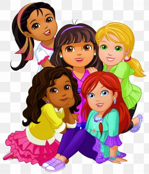 Dora And Friends Clip Art Image - Dora The Explorer Dora And Friends: Into The City! Clip Art PNG