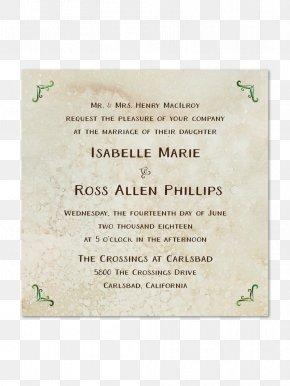 Wedding Invitation Paper - Wedding Invitation Paper Convite WeddingWire PNG