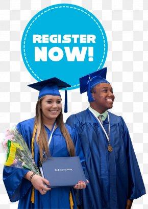 Register Button - Academician Graduation Ceremony Academic Dress Square Academic Cap DIPLOMA Hochschule Studienzentrum PNG