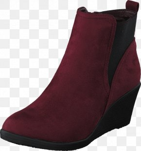 Boot - Boot Shoe Red Maroon Sneakers PNG