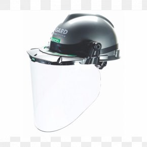Bicycle Helmets - Hard Hats Mine Safety Appliances Visor Face Shield PNG