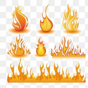 Yellow Flame - Light Flame Clip Art PNG