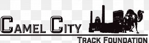 Camel City BBQ Factory Track & Field Logo Brand PNG