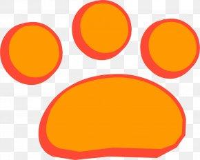 Paw Print Emoticon - Club Penguin Emoticon Clemson University Clip Art PNG