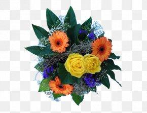 Blue Bouquet - Floral Design Flower Bouquet Cut Flowers Clip Art PNG