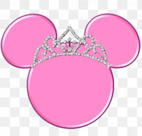 Mickey Mouse Wearing A Crown - Mickey Mouse Minnie Mouse Crown PNG