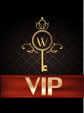 VIP Golden Key Diamond Member Material - Gold Wallpaper PNG