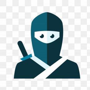 Black Ninja - Ninja ICO Icon PNG