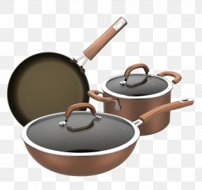 Kitchen - Frying Pan Kitchenware Cookware And Bakeware Kitchen Utensil PNG