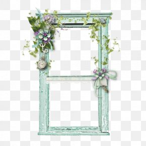 Beautiful Green Windows To Pull The Material Free - Window Picture Frame Polyvore PNG