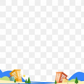 Cartoon House Architectural Elements - Line Point Angle Area Pattern PNG