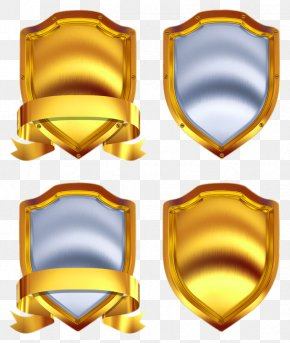 Variety Golden Shield - Gold Shield Stock Photography Metal Royalty-free PNG
