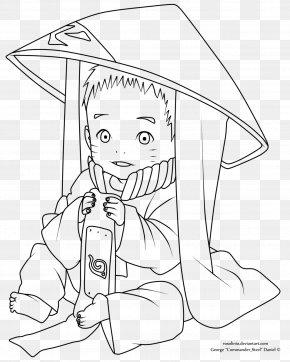 Lineart Naruto - /m/02csf Line Art Drawing Human Behavior Cartoon PNG