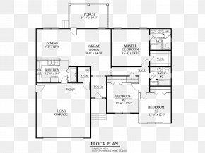 House Plan - House Plan Concrete Slab Floor Plan PNG