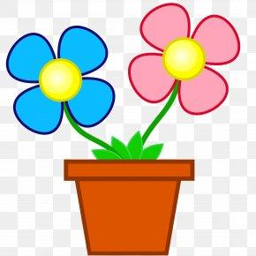 Flower Pot - Flower Clip Art PNG