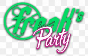 Summer Party Logo - Logo Brand Green Font PNG