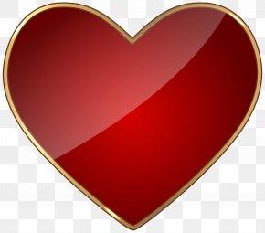 Heart Transparent Clip Art - Red Heart PNG
