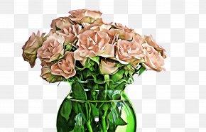 Flower Bouquet - Flower Bouquet Garden Roses Cut Flowers PNG