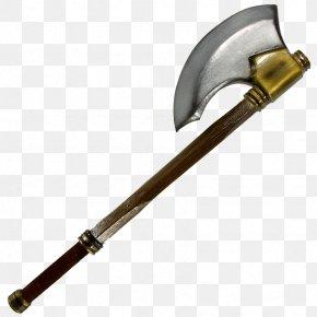 Axe - Foam Larp Swords Larp Axe Weapon Battle Axe PNG