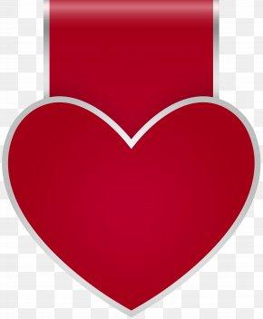Heart Label Transparent Clip Art - Heart Clip Art PNG