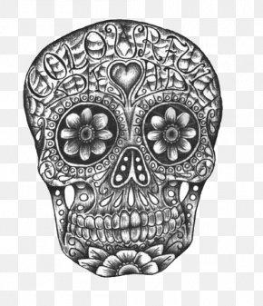 Head Full Of Bones Pattern - IPhone 4S Calavera IPhone 8 Mexican Cuisine Skull PNG
