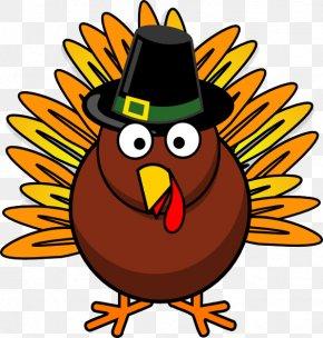 Dancing Turkey Clipart - Turkey Thanksgiving Clip Art PNG