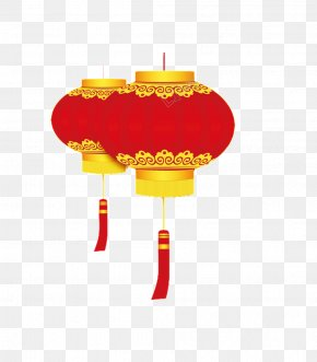 Chinese New Year - Chinese New Year Lantern Firecracker Image PNG