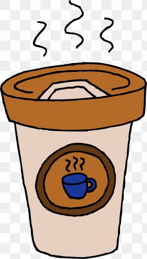 Free Coffee Cup Clipart - Coffee Milk Latte Coffee Cup Clip Art PNG