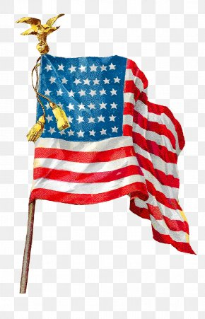 American Flag - Flag Of The United States Art Clip Art PNG