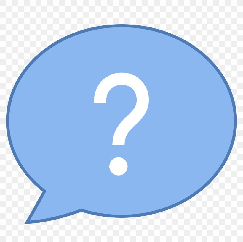 Question Mark Check Mark Icon, PNG, 1600x1600px, Question, Area, Avatar, Blue, Check Mark Download Free