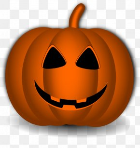 Happy Pumpkin Cliparts - Pumpkin Jack-o-lantern Halloween Clip Art PNG