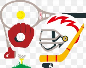 Sports Equipment Vector - Sports Equipment Ice Hockey PNG