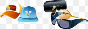 Vector Hat And Sunglasses - Sunglasses Designer PNG