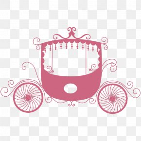 Carriage - Carriage Wedding Invitation Wall Decal Sticker PNG