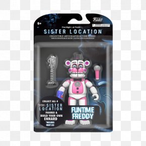 Five Nights At Freddy's: Sister Location - Five Nights At Freddy's: Sister Location Amazon.com Freddy Fazbear's Pizzeria Simulator Funko Action & Toy Figures PNG