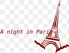 Eiffel Tower - Eiffel Tower Clip Art Christmas Image PNG