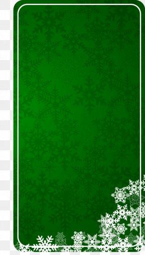 Green Square Text Box Vector Material - Christmas Tree Logo Clip Art PNG