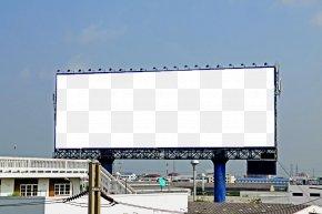 Outdoor Billboards Renderings Template - Billboard Advertising PNG