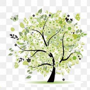 Lush Life Tree - Tree Spring Clip Art PNG