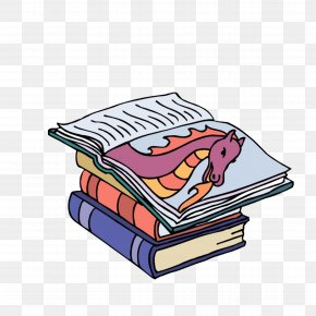 Comic Book - Book Reading Clip Art PNG