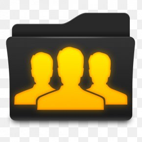 Group Folder Icon - Directory Computer Security User PNG