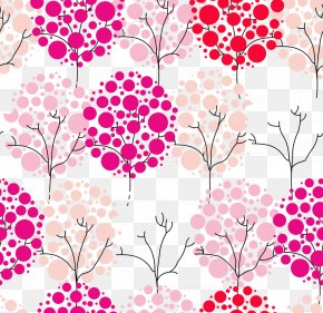 Pink Crown Decoration Pattern - Clip Art PNG