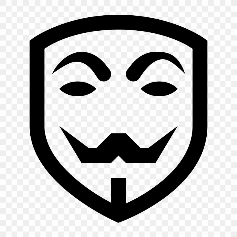 Anonymous Clip Art, PNG, 1600x1600px, Anonymous, Black And White, Face, Guy Fawkes Mask, Head Download Free