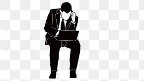 Man Sitting - Sitting Man Computer File PNG