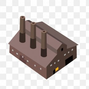 With Factory Chimney - Factory Hosted Exchange Euclidean Vector Zinc PNG