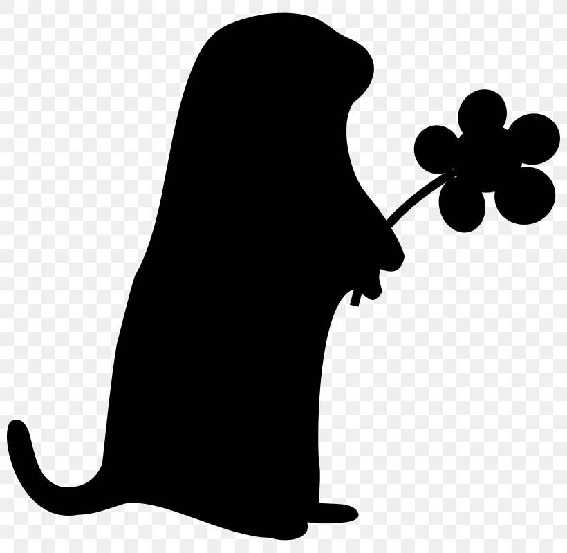 Groundhog Autocad Dxf Silhouette Clip Art Png 800x800px Groundhog Autocad Dxf Black Black And White Carnivoran