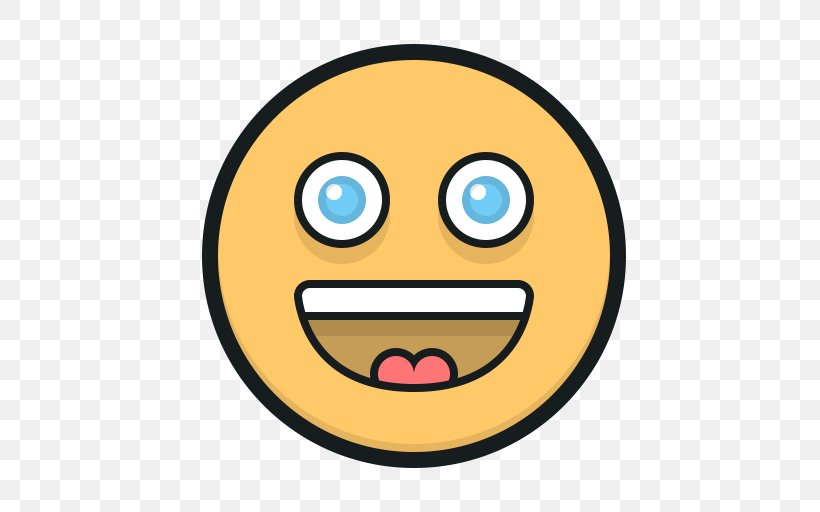 Smiley Emoticon, PNG, 512x512px, Smiley, Computer Software, Emoji, Emoticon, Face Download Free