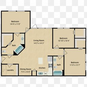 Card Executive Flat - Floor Plan Product Design Square Meter PNG