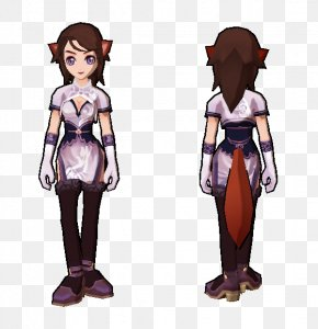 Ancient Costume - Child Costume Design Purple Violet PNG