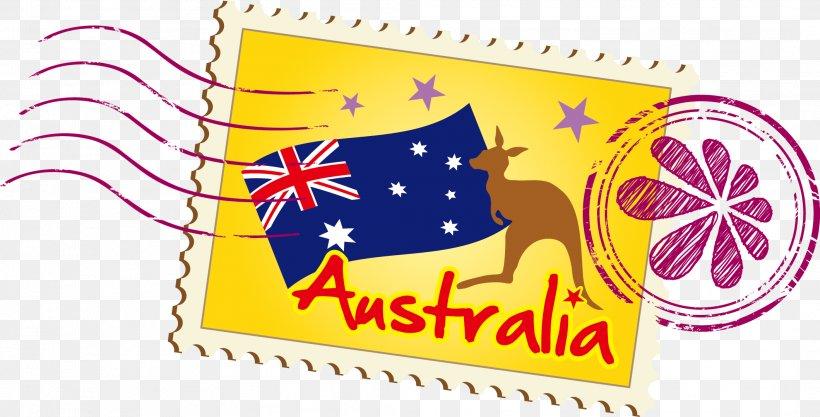 Australia Illustration, PNG, 2119x1079px, Australia, Brand, Drawing, Kangaroo, Logo Download Free